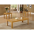 Oak 3-piece Occasional Table Set