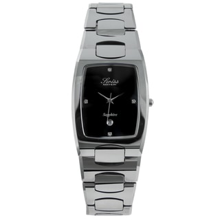 Swiss Edition Men's Rectanglar Tungsten Watch