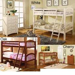 Furniture of America Firestone Twin-size Bunk Bed