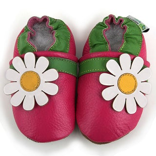 Augusta Baby Daisy Soft Sole Baby Shoes