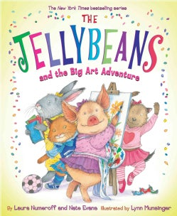 The Jellybeans and the Big Art Adventure (Hardcover)
