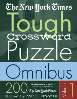 The New York Times Tough Crossword Puzzle Omnibus: 200 Challenging Puzzles from the New York Times (Paperback)