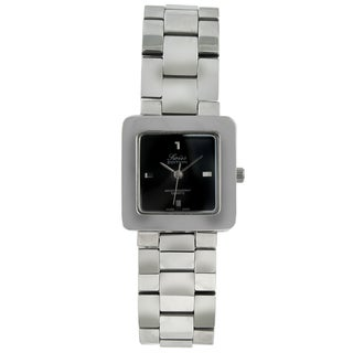 Swiss Edition Men's Silvertone Square Watch