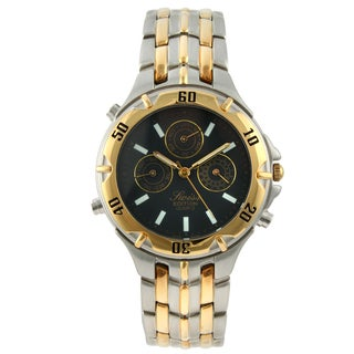 Swiss Edition Men's Two-tone Round Multi-function Movement Watch