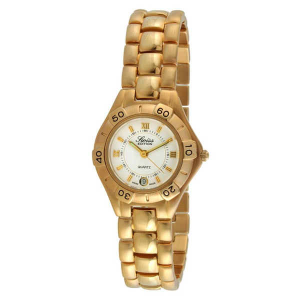 Swiss Edition Women's Goldtone Watch