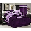 Chelsea Contemporary Microsuede 7-piece Comforter Set