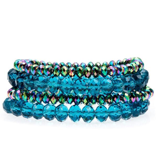 Alexa Starr Crystal Stretch Bracelet