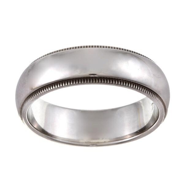 Tiffany Platinum 6-mm Estate Wedding Band