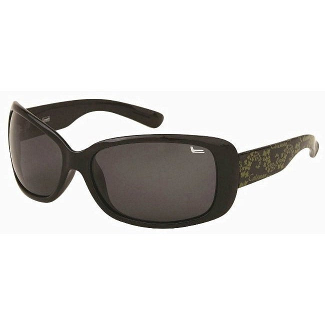 Coleman Women's CC1 Black/ Green Polarized Sunglasses