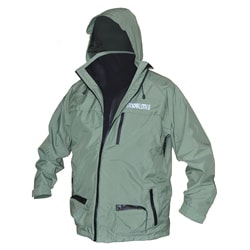 StormKloth II Men's Green Fishing Jacket