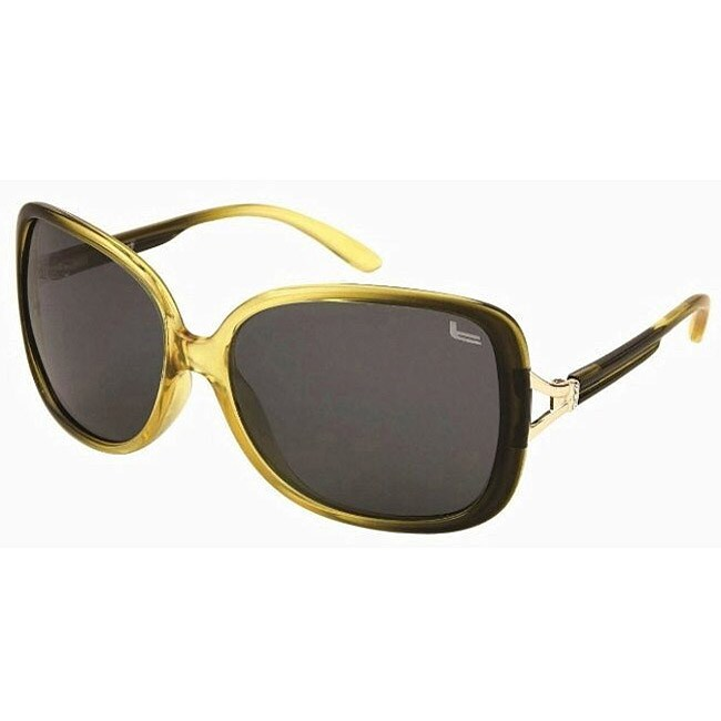 Coleman Women's CC1 Green Polarized Sunglasses