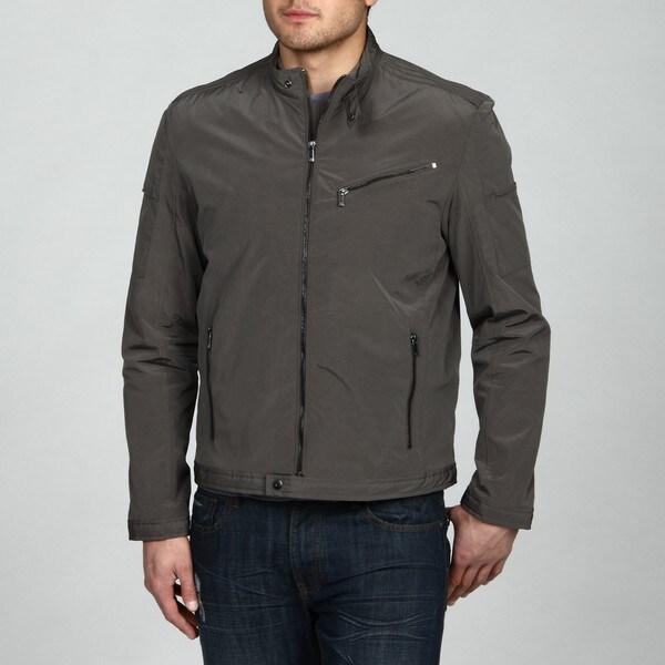 Calvin Klein Men's Lightweight Moto Jacket