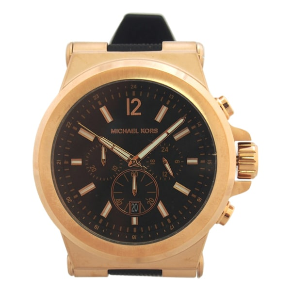 Michael Kors Men's MK8184 Rose Goldtone Watch