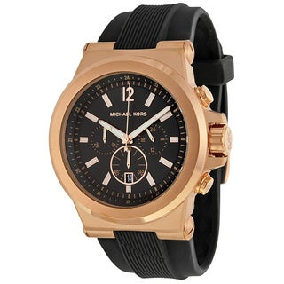 Michael Kors Men's MK8184 Rose Gold-Tone Chronograph Watch