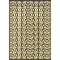 Brown/ Green Outdoor Area Rug (7'10 x 10')