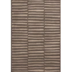 Miramar Gray on Gray Geometric Area Rug (7'10 x 10')
