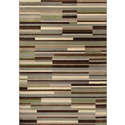 Miramar Grey/ Beige Transitional Area Rug (6'7 x 9'6)