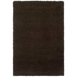 Manhattan Brown Area Rug (4' x 6')