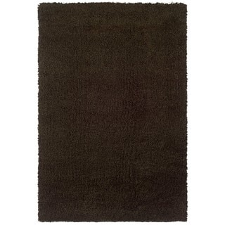 Manhattan Brown Area Rug (5'3 x 7'9)