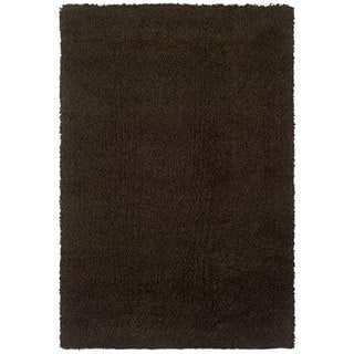 Manhattan Brown Area Rug (7'10 x 11'2)