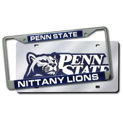 NCAA Penn State Nittany Lions Laser Cut License Plate Pack