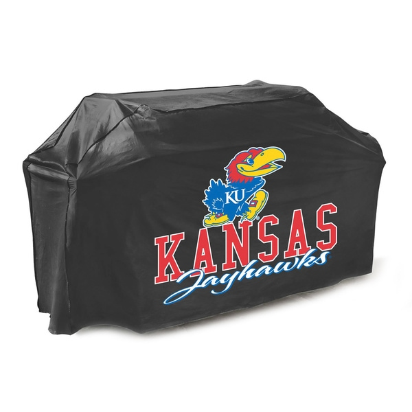 Kansas Jayhawks 65-inch Gas Grill Cover