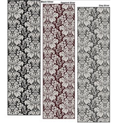 Brilliance Damask Area Runner Rug (2'2 x 7'7)