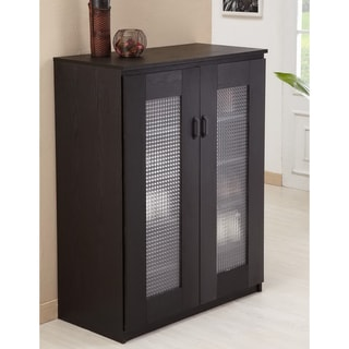 Furniture of America Linear Shoe/Multi-purpose Cabinet