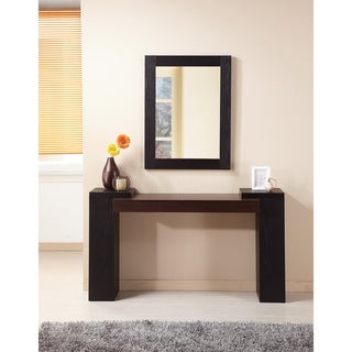 Modal 2-piece Sofa Table and Mirror Set