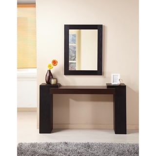 Modal Two-tone Console Table