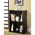 Cappuccino Wood Bookcase/ TV Stand