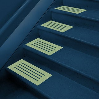 Glow-in-the-dark Non-slip Pathway Mats (Pack of 8)