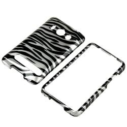 Rubber Coated Cases/ Plastic Zebra Case for HTC EVO 4G