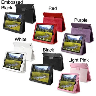 INSTEN Premium Purple Tablet Case Cover for Apple iPad 2 / 3 / New iPad