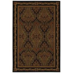 Monarchy Black Rug (8' x 11')