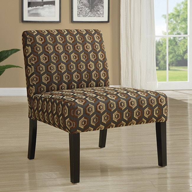 Monarch Diamondback Fabric Accent Chair at Sears.com