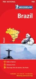 Michelin Brazil Map (Sheet map, folded)
