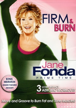 Jane Fonda Prime Time: Firm & Burn (DVD)