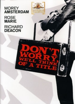 Dont Worry, We'll Think Of A Title (DVD)