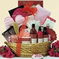 Be Well Pomegranate Spa Haven Bath & Body Spa Gift Basket