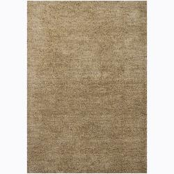 Handwoven Wool Blend Mandara Shag Rug (9' x 13')