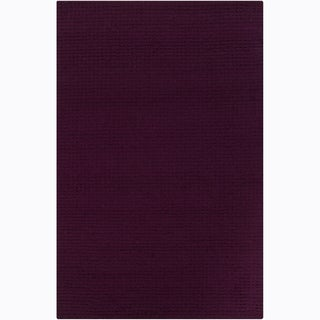 Hand-tufted Mandara Purple Rug (9' x 12')