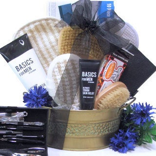 Just For Men Spa Gift Basket