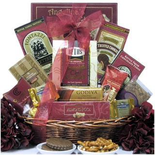 Chocolate Delights Ghirardelli and Lindt Gift Basket
