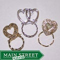 Detti Originals SPEC Heart Pins 3-piece Spectacle Brooch Set