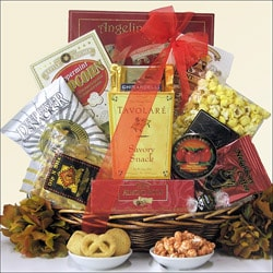 Sweet & Savory Delights Gourmet Snack Gift Basket