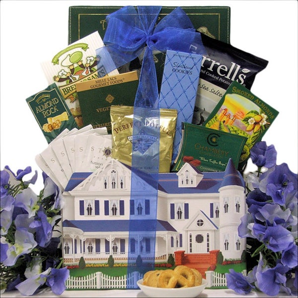 Great Arrivals Settling In Housewarming Gift Basket