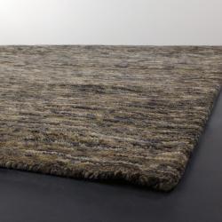 Hand-woven Mandara New Zealand Wool Rug (9' x 13')