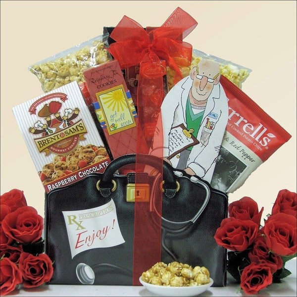 Just What The Doctor Ordered! Get Well Gift Basket