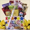 Happy-Birthday Sweets & Treats Birthday Gift Basket